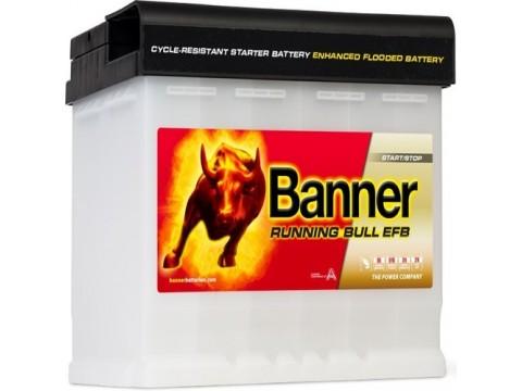Banner 027 12v 60Ah 560CCA Stop/Start EFB Battery (560 00) (027 EFB) Banner Stop/Start