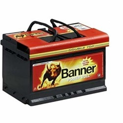 Banner 075 12v 62Ah 540CCA Car Battery (P62 05) (075)