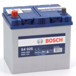 BOSCH 560411054 s4025 611912 014 60Ah 540 CCA Car Battery