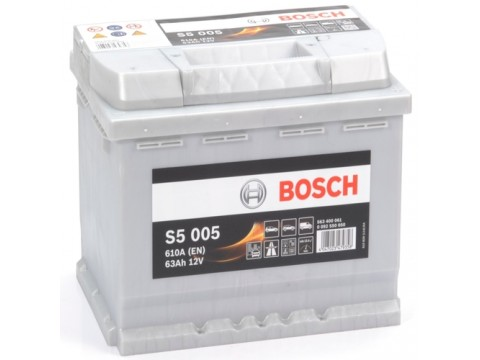 BOSCH 027 63Ah 610 CCA Car Battery