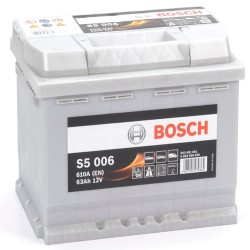 BOSCH 563401061 s5006 612024 077 63Ah 610 CCA Car Battery