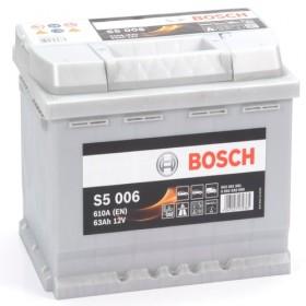 BOSCH 563401061 s5006 612024 077 63Ah 610 CCA Car Battery