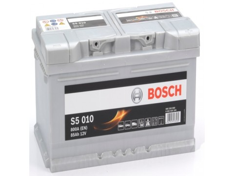BOSCH 585200080 s5010 612027 110 85Ah 800 CCA 115 Car Battery
