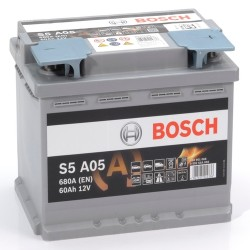 BOSCH 027 60Ah 680 CCA Car Battery