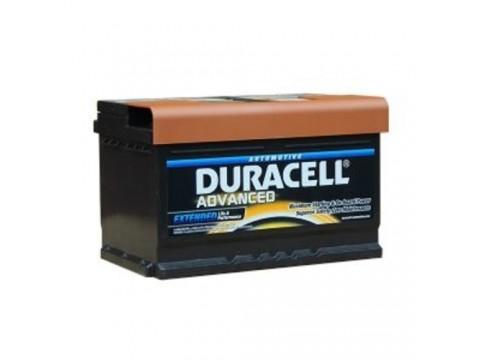 Duracell DA72 Advanced Car Battery (100) Duracell Taxi