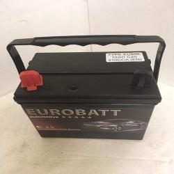 Eurobatt EU896 12v 32Ah 310CCA Lawnmower / Ride On Mower Battery (U1-9R)