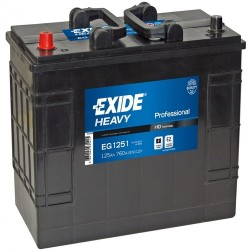 Exide EG1251 12v 125Ah 760CCA Commercial Battery Exide Commercial