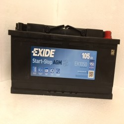 Exide EK1050 Stop/Start AGM Car Battery