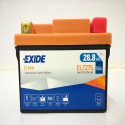 Exide ELTZ7S 12V 28.8Wh Lithium Motorcycle Battery