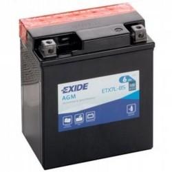 Exide ETX7L-BS 12v 6Ah AGM Motorcycle Battery Exide Motorcycle