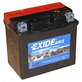 Exide ETZ7S-BS 12v 6Ah AGM Motorcycle Battery Exide Motorcycle