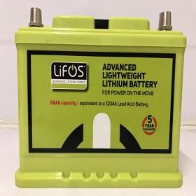 Lifos Advanced Lightweight Lithium 68Ah Power Battery