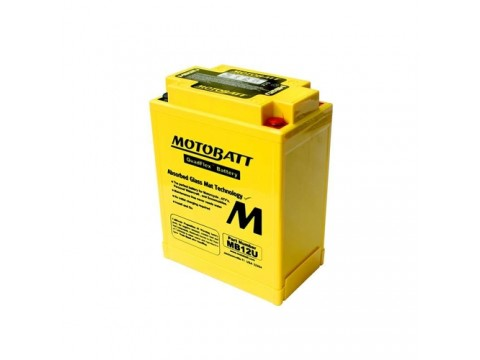 Motobatt MB12U 12V 15Ah Motorcycle Battery