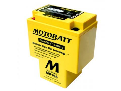 Motobatt MB16A 12V 19Ah Motorcycle Battery