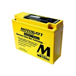 Motobatt MB16AU 12V 20Ah Motorcycle Battery