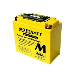 Motobatt MB18U 12V 22Ah Motorcycle Battery