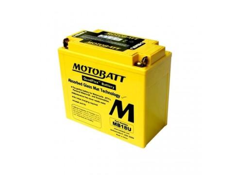 Motobatt MB18U 12V 22Ah Motorcycle Battery