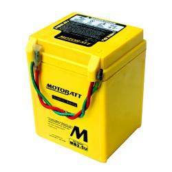 Motobatt MB2.5U 12V 2Ah Motorcycle Battery