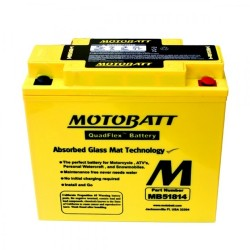 Motobatt MB51814 12V 22Ah Motorcycle Battery