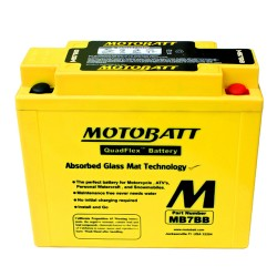 Motobatt MB7BB 12V 9Ah Motorcycle Battery
