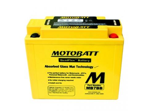 Motobatt MB7BB 12V 9Ah Motorcycle Battery