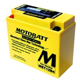 Motobatt MBT12B4 12V 11Ah Motorcycle Battery