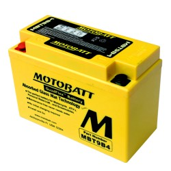Motobatt MBT9B4 12V 9Ah Motorcycle Battery