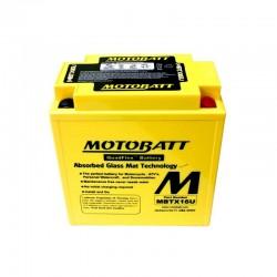Motobatt MBTX16U 12V 19Ah Motorcycle Battery