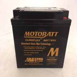 Motobatt MBTX20UHD 12V 21Ah Motorcycle Battery