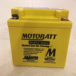 Motobatt MBTX4U 12V 4Ah Motorcycle Battery