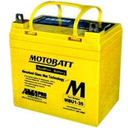 Motobatt MBU1-35 12V 35Ah Motorcycle Battery