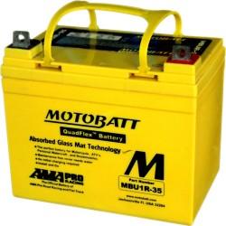 Motobatt MBU1R-35 12V 35Ah Motorcycle Battery