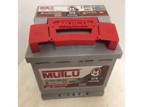 MUTLU 027 12V 60Ah 600 CCA Car Battery