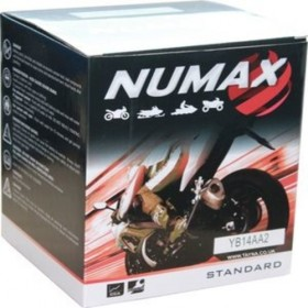 Numax YB14-A2 12v 14Ah Motorcycle Battery Numax Motorcycle