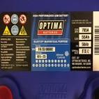 Optima Blue Top BT DCM 4.2 (8016-253) (BCI D34M) (BTDCM4.2 AGM) (BTDC4.2)