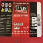 Optima Red Top RTR 3.7 (8035-255) (RTR3.7) (RTS3.7R AGM) Optima Industrial