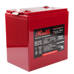 Rolls 6V S6-275AGM Deep Cycle Battery (S6275AGM)