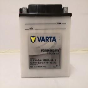 Varta YB10L-A2 Funstart Wet Motorcycle Battery (511 012 009) (YB10LA2) (12N10-3A) 12V 11Ah Varta Funstart Wet