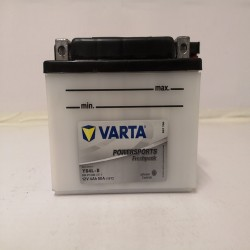 Varta YB4L-B Funstart Wet Motorcycle Battery (504 011 002) (YB4LB) 12V 4Ah Varta Funstart Wet