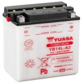 Yuasa YB14LA2 12v 14Ah Motorcycle Battery (YB14LA-2)