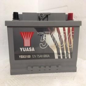 YUASA YBX5100 75Ah 680 CCA Car Battery