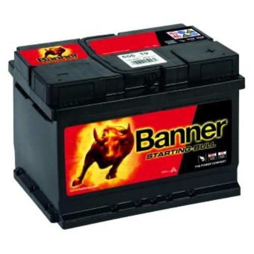 banner 065 12v 55ah 450cca car battery 555 19 075. Black Bedroom Furniture Sets. Home Design Ideas