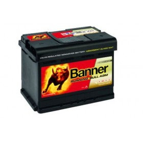 Banner 027 12v 60Ah 640CCA Stop/Start AGM Car Battery ( 560 01) (027AGM) Banner Stop/Start