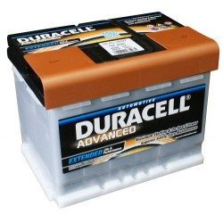 Duracell DA63H Advanced Car Battery (027)