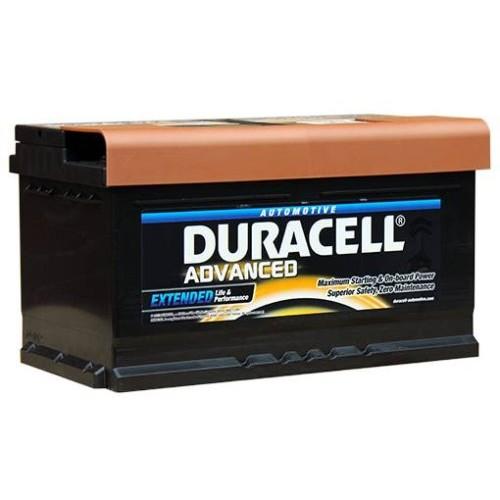Duracell Battery Da Advanced Car Battery Type