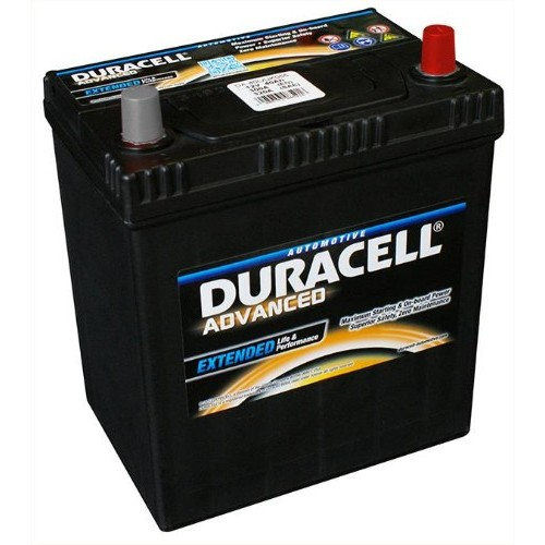 Duracell Da40b Advanced Car Battery 054h