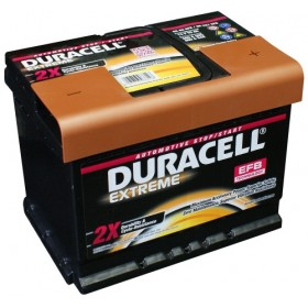 Duracell DE60 EFB Extreme Start -Stop Car Battery (027/D53)