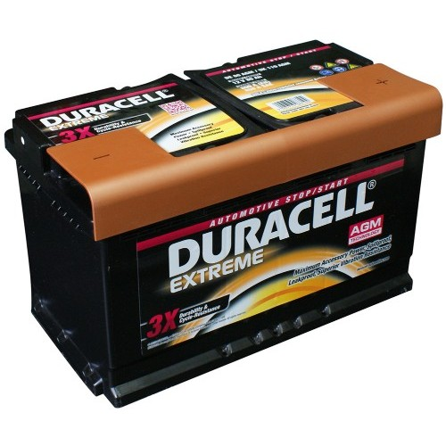 Duracell DE80 AGM Extreme Start