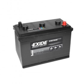 Exide EU140-6 Vintage (511) & CTEK XC 0.8 Battery Charger (XC0.8) Classic Specials