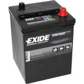 Exide EU80-6 Vintage (421) & CTEK XC 0.8 Battery Charger (XC0.8) Classic Specials